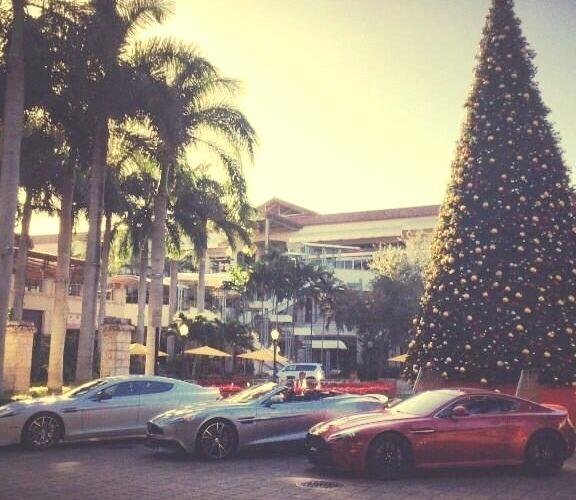 Aston Martin wishing you a Merry Christmaswww.DiscoverLavish.com