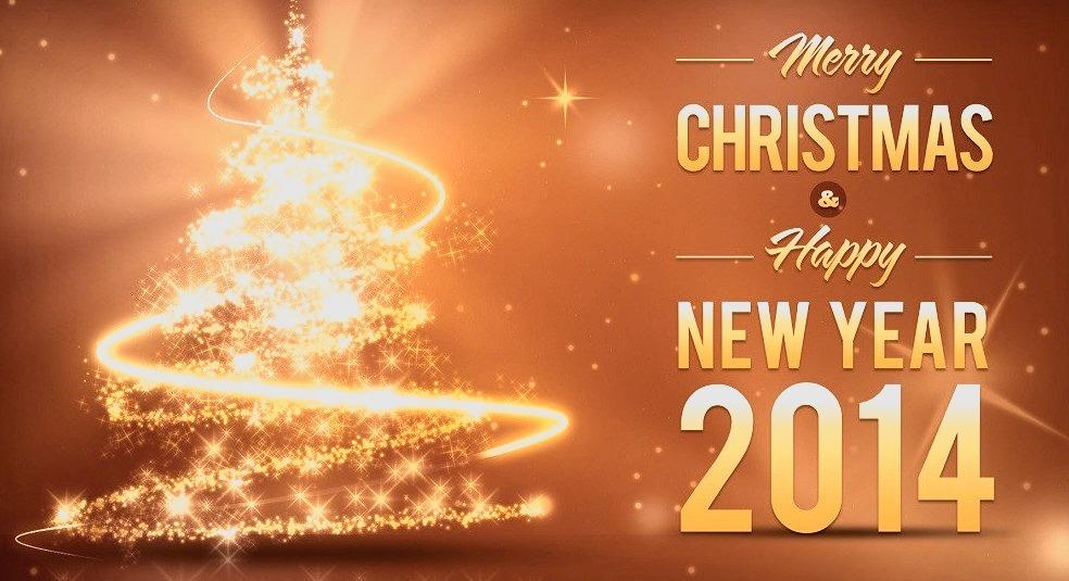 Merry Christmas, Happy Holidays, Happy New Year, 2014
