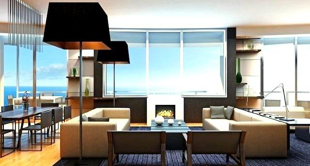 Luxury Penthouse Living Room Design