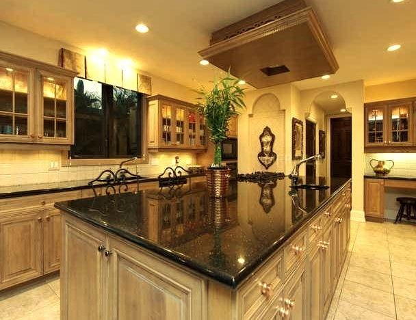 Luxury Mansion Kitchen