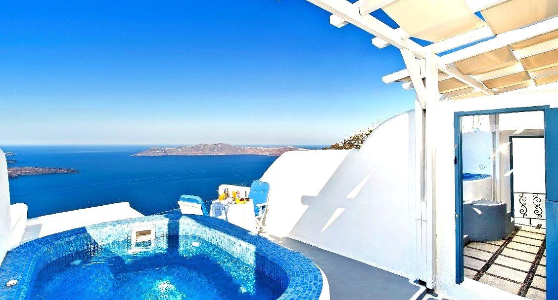 Santorini, Landscape, Travel, Hotels, Greece