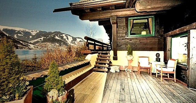 Vacation, Home, House, Mountain, Mountains